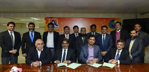 PSO and Allied Bank Sign Agreement for ABL ATMs at PSO's Outlets